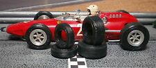 1/32 URETHANE SLOT CAR TIRES 2pr fit Vintage Monogram Ferrari GP F1