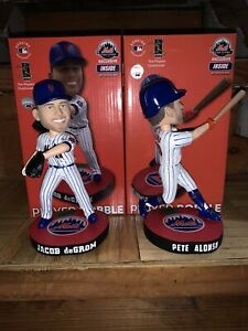 Jacob Degrom & Pete Alonso New York Mets Team Store Exclusive FOCO Bobbleheads