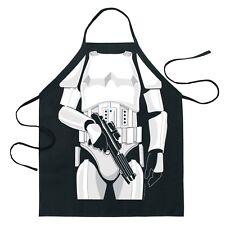 Stormtrooper Kitchen Apron Mens BBQ Tool Star Wars Apparel Adult One Size New