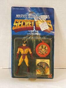 Marvel Super Heroes Secret Wars Wolverine Action Figure - Sealed READ