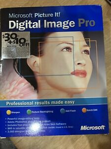 Microsoft Picture It! Digital Image Pro 7.0 CD-ROM for Windows 98/2000/ME/XP