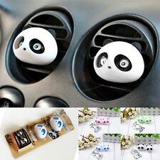 2PCS Cute Original Panda Car Perfume Air Freshener Auto Detailing Accessories