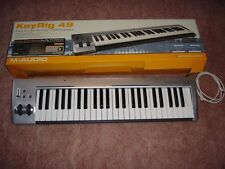 MUSIC KEYBOARD - M-Audio KeyRig 49 keyboard controller - NEW IN-BOX