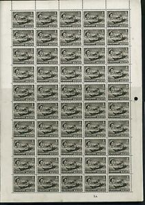 Singapore 1959 1c black Sheet Plates 1A and 1C with errors UM/MNH