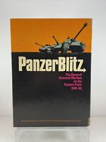 UNPUNCHED Panzer Blitz German Avalon Hill 1970 WWII Strategy Board Game COMPLETE