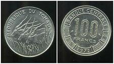 TCHAD  100 francs  1972 ( SPL )