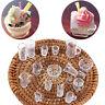 15x Miniatur Tasse Gericht 1:12 Puppenhaus Dekoration Küche Teller Set Schöne