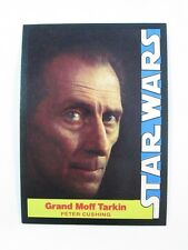 1977 Wonder Bread STAR WARS #6 Trading Card Grand Moff Tarkin Peter Crushing