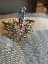 Betsey Johnson Peacock Bracelet