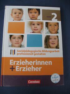 erzieherinnen+ erzieher Bd. 2 ISBN 978-3-06-450181-2 Cornelsen Verlag NEUWERTIG
