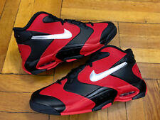 Nike Air Up Red Black Silver Size 12