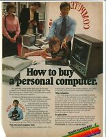 Vintage Print Ad ~ 1979 ~ APPLE ~ How to Buy a Personal Computer