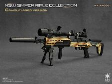 Easy & Simple 1/6 MK14MOD0C NSW Sniper Rifle Camouflage ES-06010C