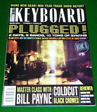 Black Crows' Keyboard ist Master Class, Quasimidi Raven Review in 1996 Magazine