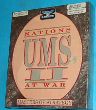 UMS 2 Universal Military Simulator - Nations At War - 3.5 Floppy Ver. PC Nuovo
