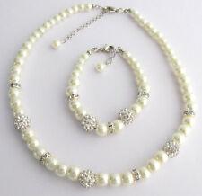 Flower Girl necklace,bracelet,Junior Bridesmaid Childrens Jewelry,wedding gift