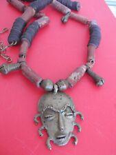 antique vintage tribal o necklace god shiva amulet NECKLACE hindu