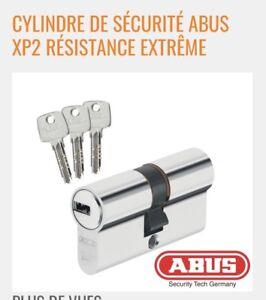 40//55 Abus ec660 Profil Cylindre Cylindre De Verrouillage Poignée Cylindre beaucoup de clé