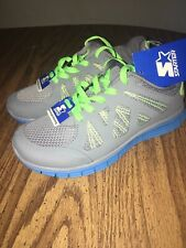 STARTER PRO ATHLETIC SHOES BOYS SIZE 1 BLUE AND GREEN COLOR
