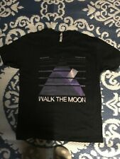 Walk The Moon T-shirt in Black. The Distance The Difference Tour. Size Large
