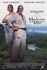 MEDICINE MAN Movie POSTER 27x40 Sean Connery Lorraine Bracco Jose Wilker Rodolfo