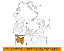 NISSAN OEM 05-12 Pathfinder Brake-Rear Pads 44060EA091