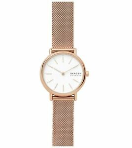 Skagen Women's Signatur Rose Gold-Tone Watch SKW2694 Wristwatch