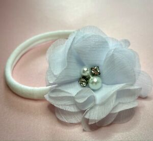 White Baby Headband one size fits all super soft band no seams more colours