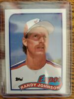 1989 TOPPS #647 RANDY JOHNSON Seattle Mariners ROOKIE CARD -