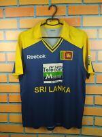 Sri Lanka Jersey LARGE Shirt Football Reebok Soccer Trikot Maglia