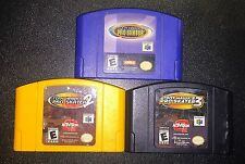 Nintendo 64 N64 Tony Hawk's Pro Skater 1 + 2 + 3 Video Game Cartridges
