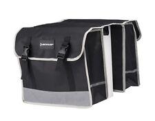 Dunlop Fahrradtasche  Doppel Satteltasche Gepäckträger Wasserfest