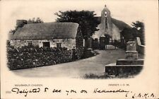Maughold Church, Ramsey, Isle of Man # 3726. Undivided back.