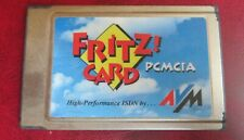 Fritz ! Card PCMCIA v2.0 HIGH Performance ISDN Karte by AVM