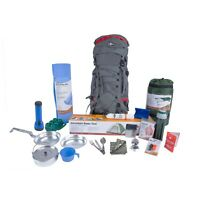 Custom Emergency Bug Out Bag Gear Backpack Survival Kit Camping Hiking Surviving