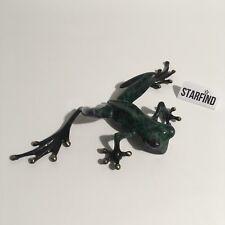 Tim Cotterill Frogman Bronze Frog Sculpture Peeking Over Shelf Sitting 90/1000