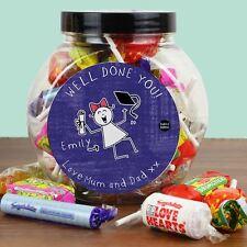 Purple Ronnie Personnalisé Graduation bonbons jar idée de cadeau pour femmes