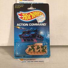 #4  Command Tank 9371 * Tan * Malaysia 1986 * Hot Wheels * J14