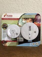 Kidde Ionization & Photoelectric Smoke Alarm PE94CA & 0918CA