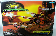 GODZILLA : THUNDERBLAST TANK MODEL MADE BY TRENDMASTERS IN 1998