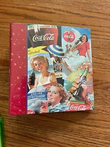 Vintage Coca Cola Photo Album Advertising Brand New Factory Sealed 80 Photos