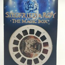 3 VIEW-MASTER Reels - SIEGFRIED & ROY White Tigers IMAX NEW In Package 3D