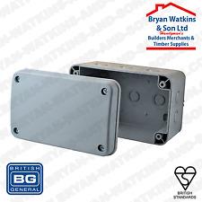 BG resistente alle intemperie IP55 involucro di plastica scatola di derivazione 180 x 110 x 100mm wpbjb1-01