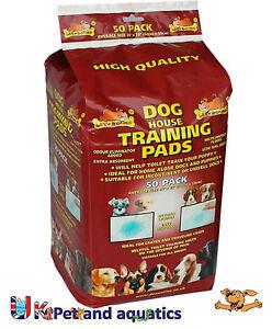 Lazy Bones Puppy Training Pads, 50 Pack