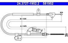 ATE Cable de accionamiento freno mano 24.3727-1952.2