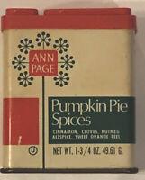 Vintage Ann Page Pumpkin Pie Spices