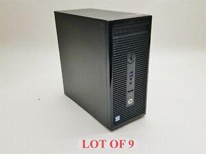 HP ProDesk 400 G3 MT Intel i5-6600 3.3GHz 8GB 2TB Wifi Win10 Pro Computer Lot 9