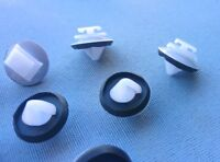 (41B) 20x Zierleistenklammern Clips Befestigung Halter weiß für Peugeot Citroen
