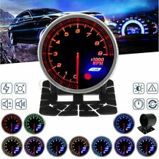 52mm 0-9000rpm Universal Car Led Tachometer Tacho Gauge Meter Pointer 10 Colors