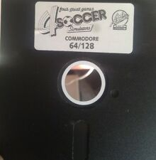 4 Soccer Simulators (Codemasters 88) C64 Diskette (Disk) 100 % ok